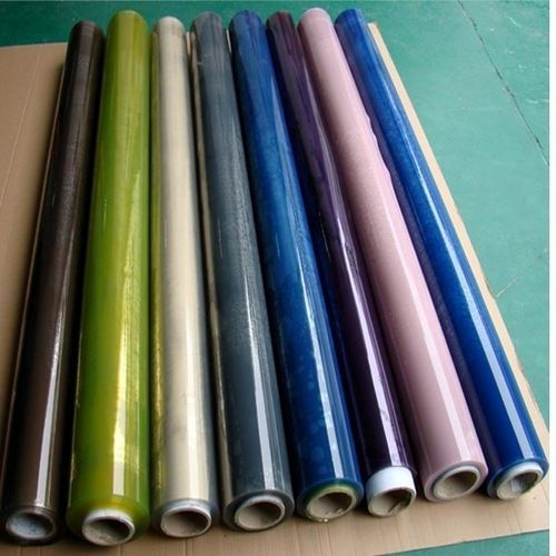 Polyester colored film