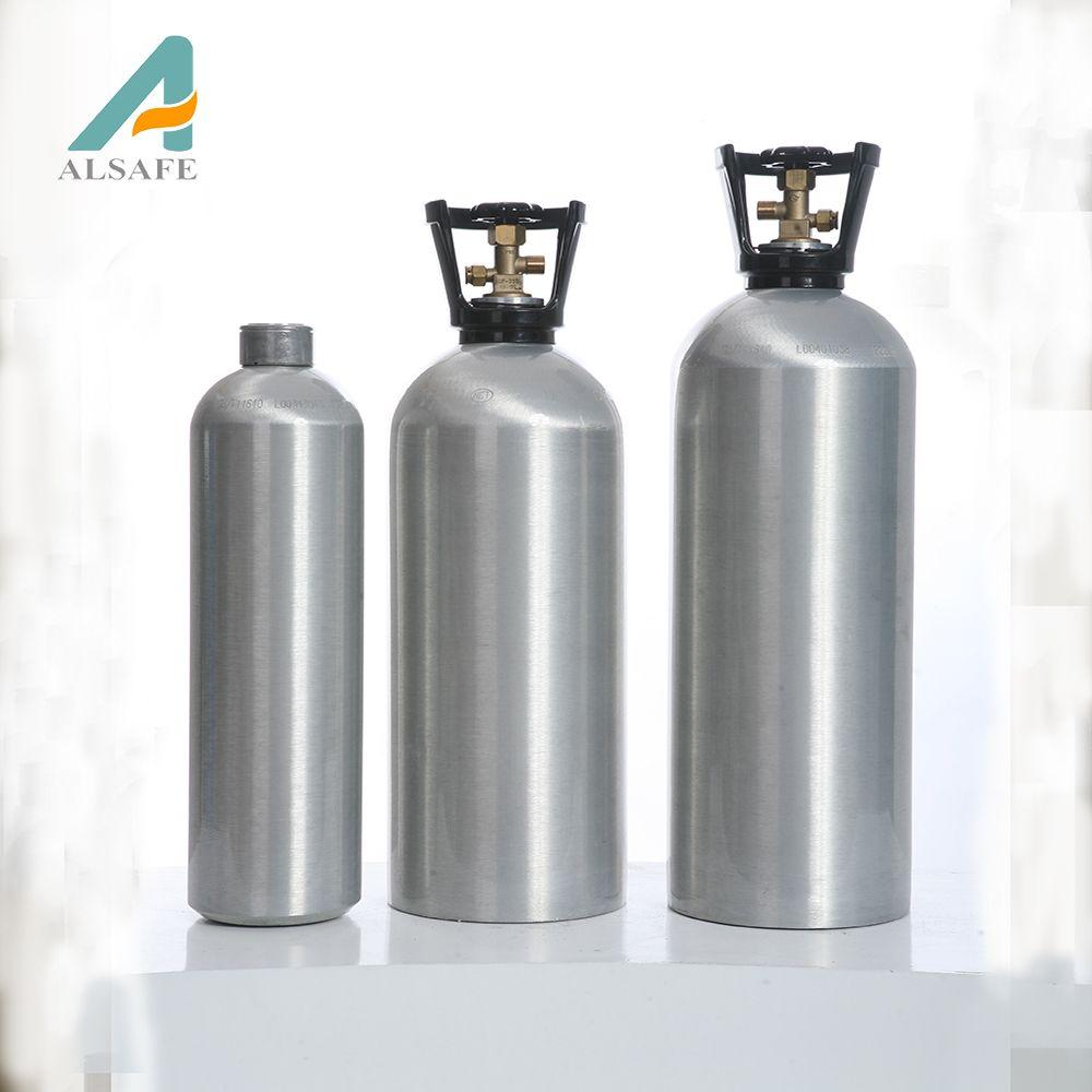 seamless aluminium gas cylinder