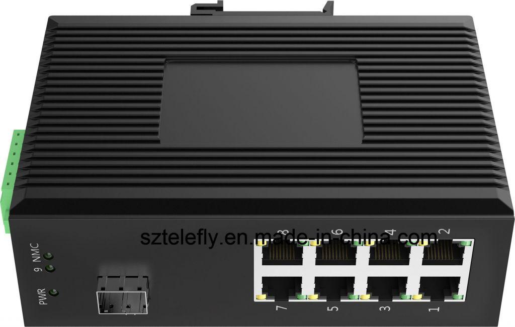10/100 1 Gigabit Fx 8 Fast Ethernet Switch