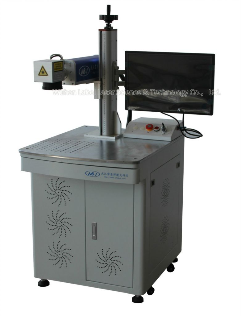 20W/30W/50W fiber laser marking machine for metal and plastic