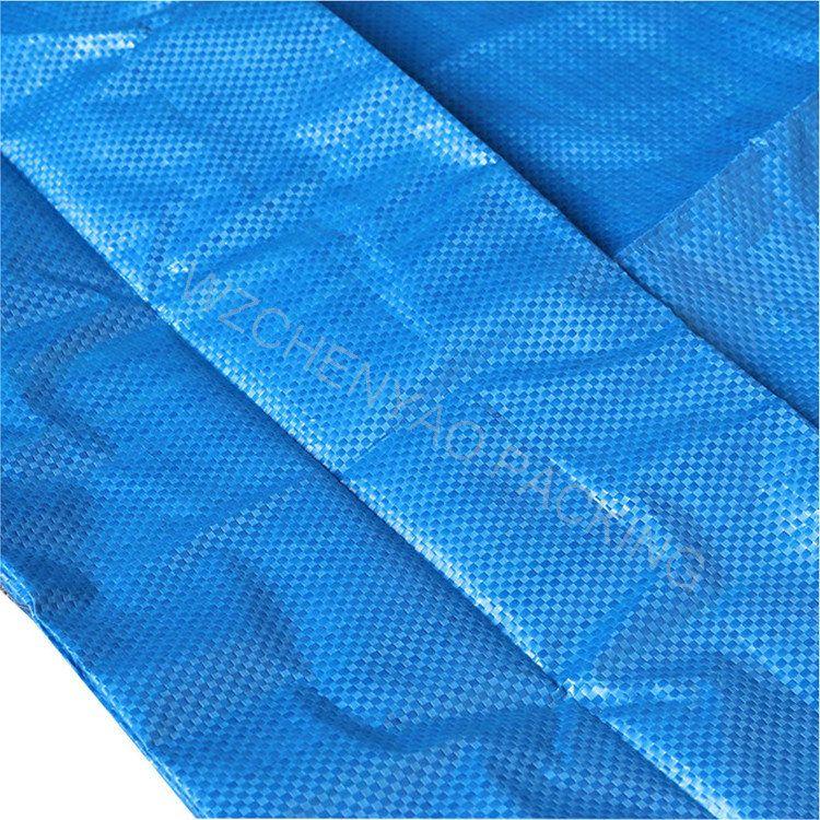 Custom logo  Outdoor Grocery Recycle waterproof PP Woven Frakta Large Shopping Bag
