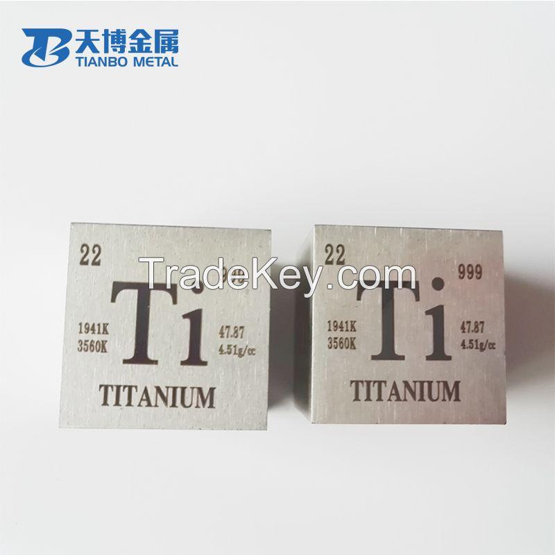 Best Price Titanium Cube 38.1mm, Titanium Price Per Kg