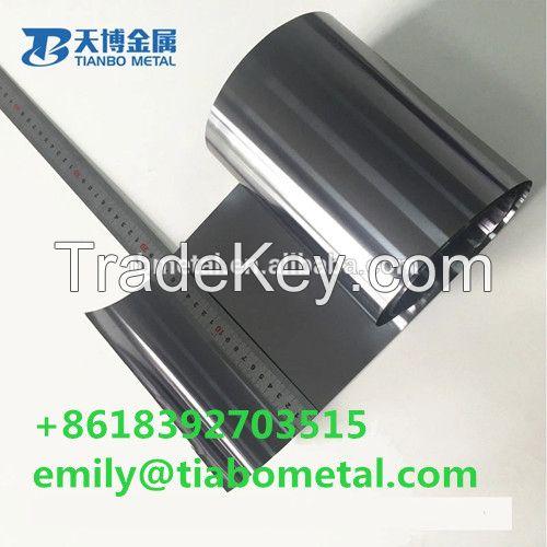 2019 hot sale tech brand 0.05mm tungsten foil in stock baoji tianbo