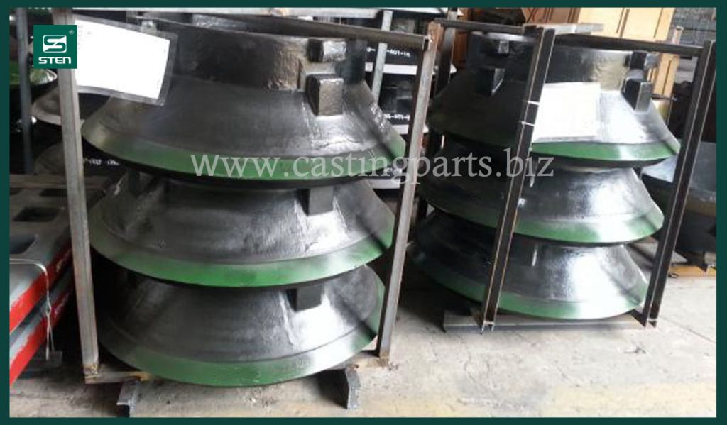China casting factory crusher parts Mccloskey concave and mantle