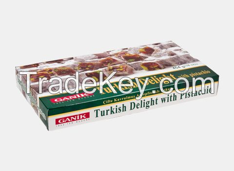 Turkish Delight with Pistachio Double Roasted 454 g