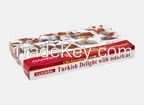 Turkish Delight with Hazelnut Double Roasted 454 g