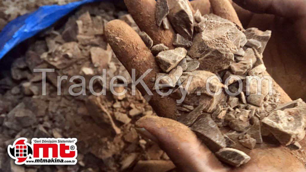 TSC-SERIES SINGLE SHAFT COCOA FAT SHREDDER