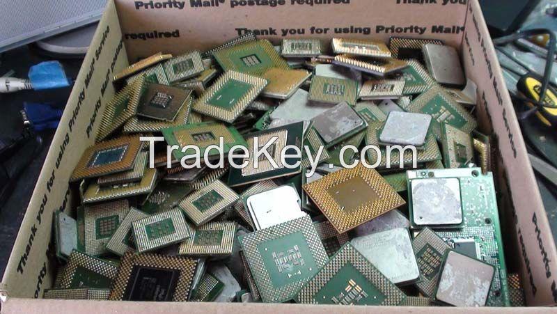 Gold-Finger-Computer-scrap-Memory-Ram-Scrap