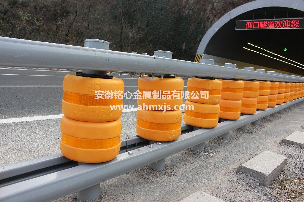 Rolling Guardrail Rotating Barrier for Traffic