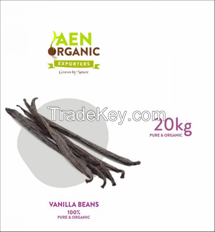 EAN ORGANIC VANILLA BEANS