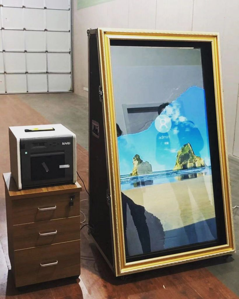 Magic Mirror Photo Booth For Wedding