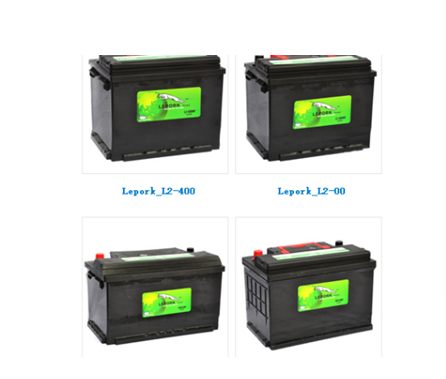 Automobile Storage Battery acid lead battery dried battery