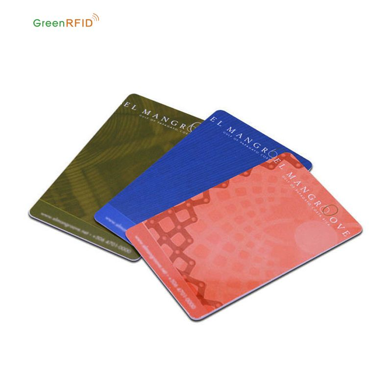 Greenrfid Personalized pvc loyalty printed plastic cards