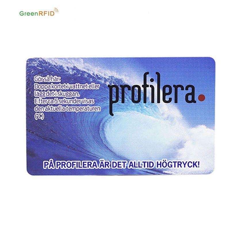 Low Cost 125khz T5577 RFID smart card blank pvc id card