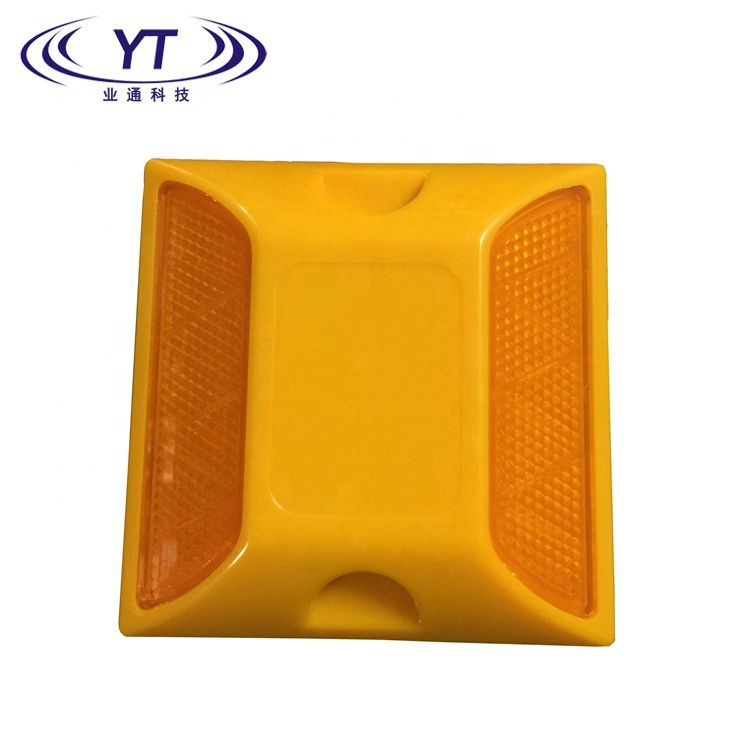 Factory Outlet Double-side Reflective Plastic Road Stud YSP-02