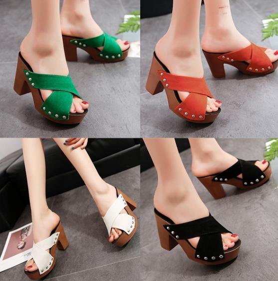 Womens Waterproof Platform Sandals Summer Roman Slippers Size