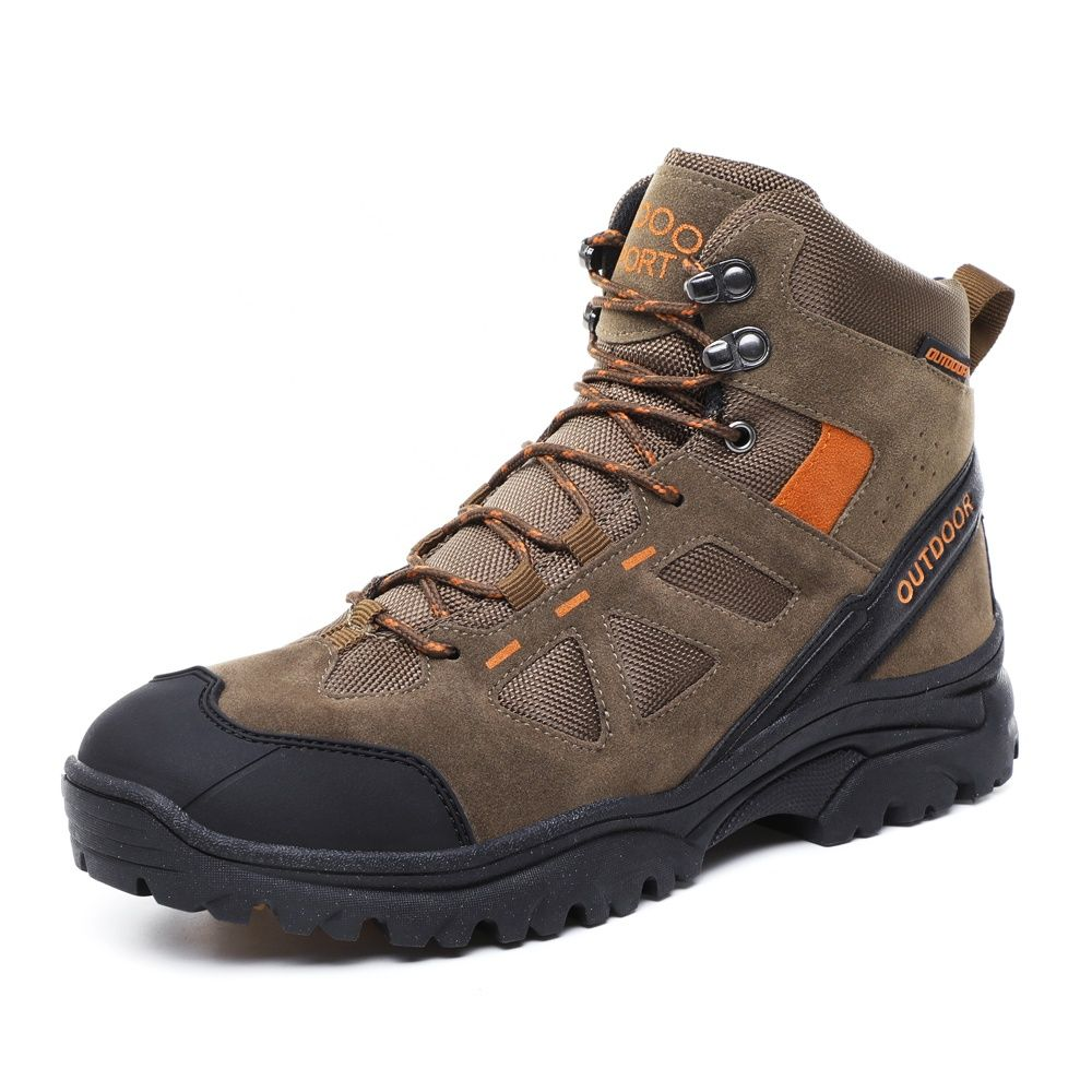 outdoor climbing men snow hiking shoes boots