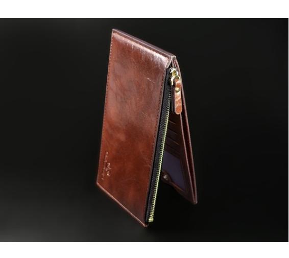 Hot Unisex Genuine Leather Men Wallets Clutch Selling Fashion Money Clip Men Wallets