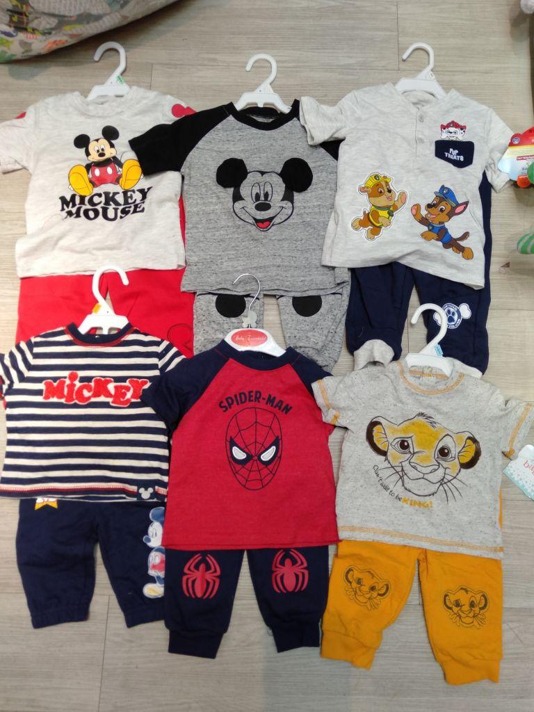 Brand original baby boy clothes infant T=Shirt pants 2 piece set