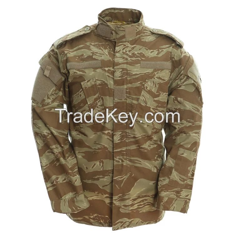 FRONTER Rip Stop Men Military Uniforms British Military Camo