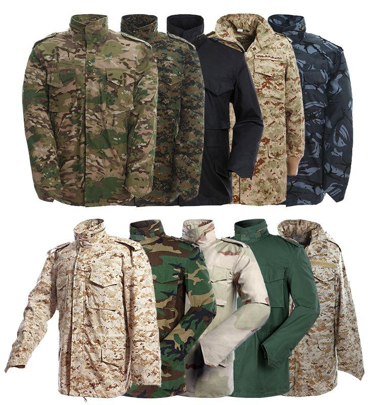 Cheap Wholesale CP Muliticam Camo M65 Field Military Jacket