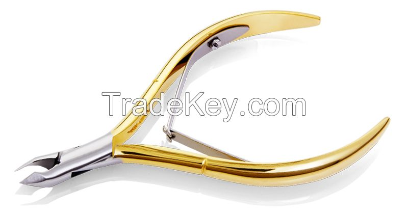 Nghia Export Nail/Cuticle Nippers Stainless Steel Grey Finished