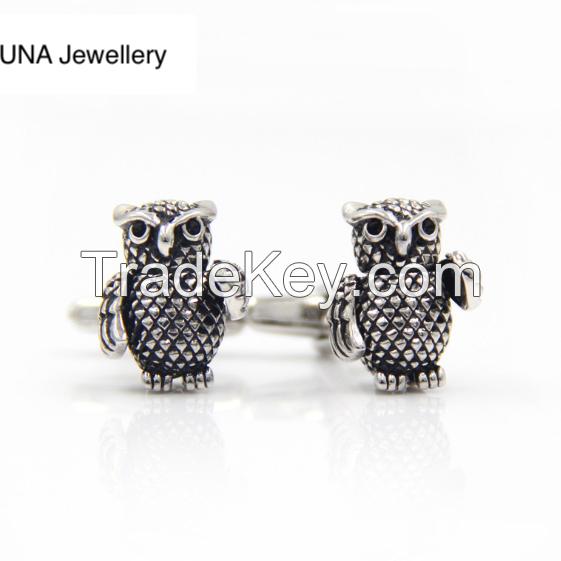 Owl Cufflink