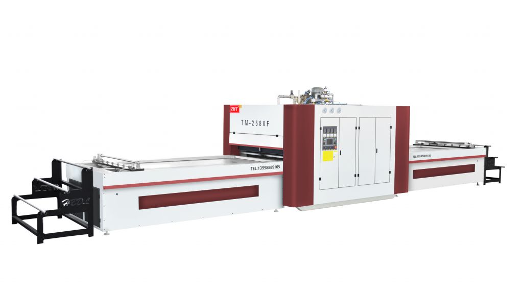 TM 2580F Vacuum Upper Pressure Membrane Machine