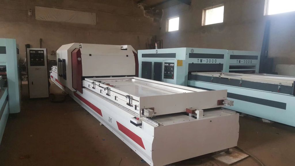 TM3000 Automation high gloss laminating machine