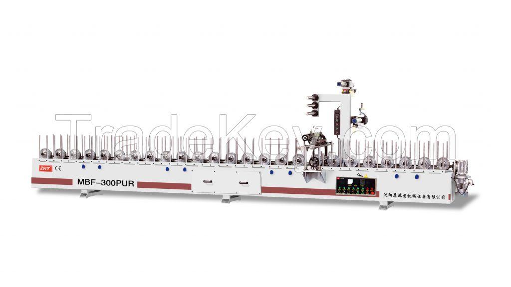 MBF-300PUR profile laminating machine