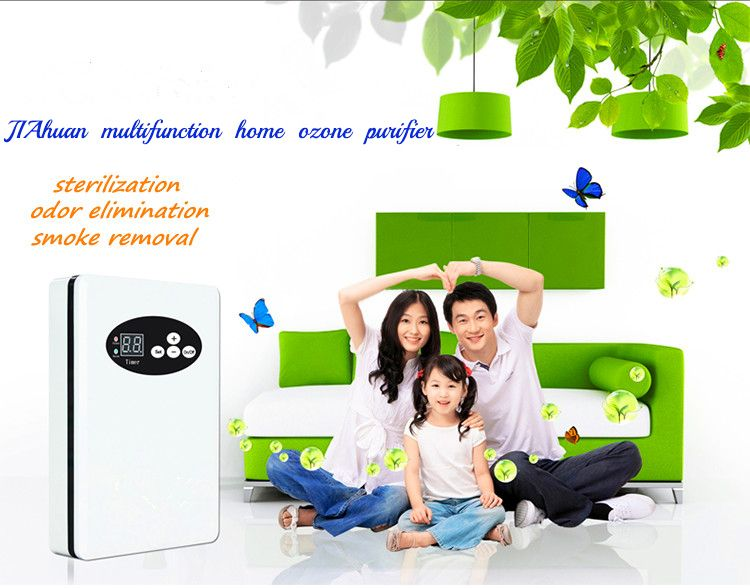 Small portable Ozone genetator air water purifier with disinfection and detoxification