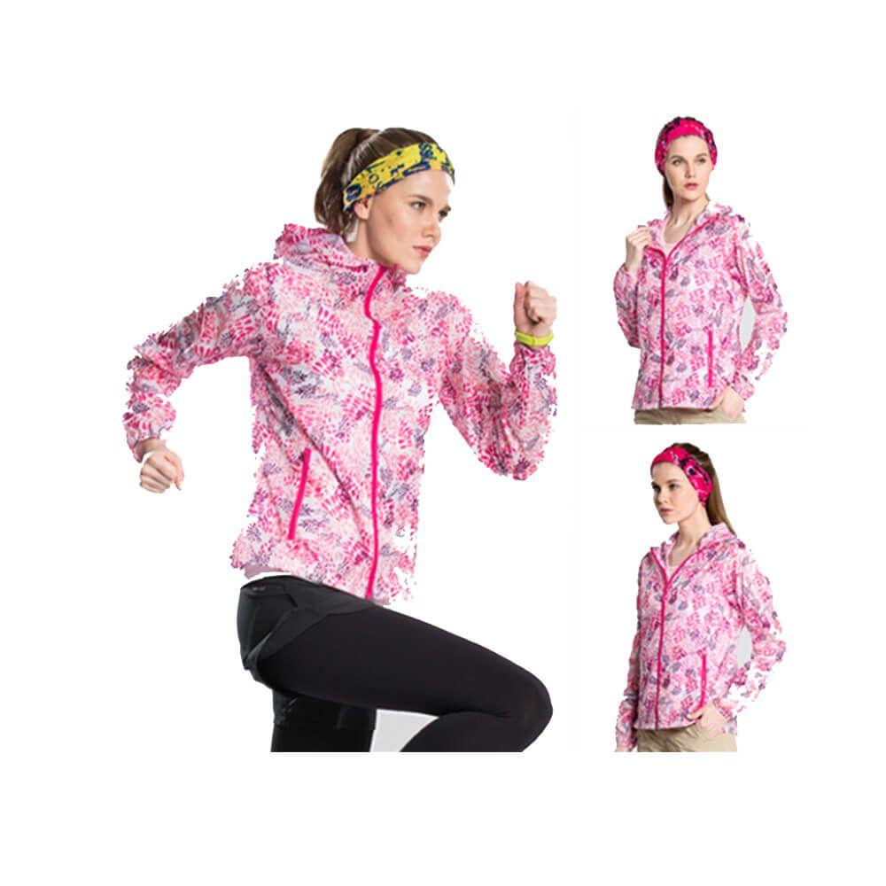 Fashion Womens Summer Sun Protect Windbreaker Lightweight Jacket