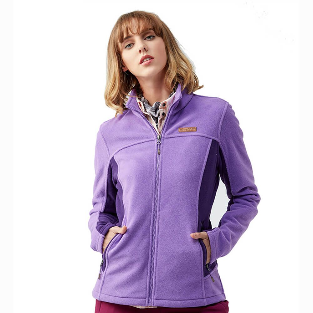 Women Clothes Warm 320G Polar Fleece Outdoor Sport Jacket