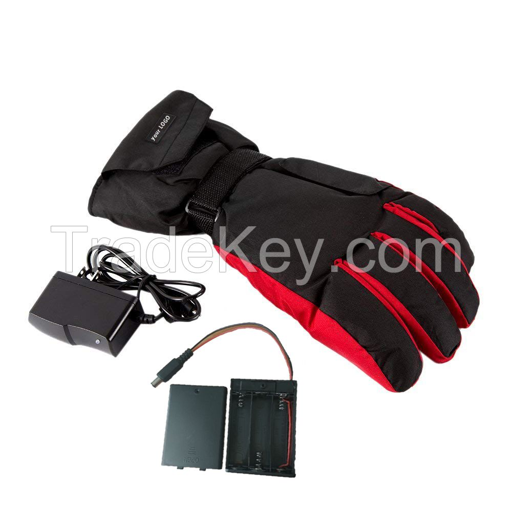 Winter Gloves Heated Gloves Cold Proof Thermal Mens Glove Rechargeable and Snowboarding Gloves