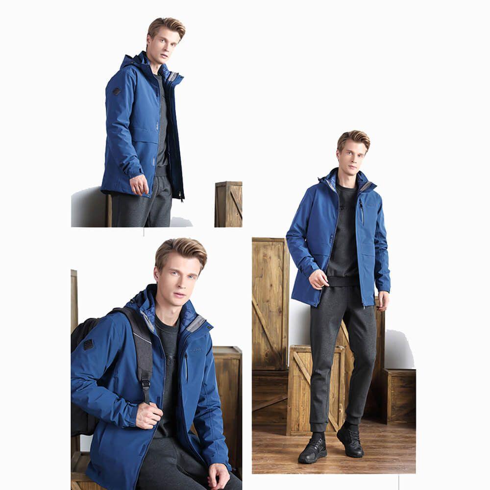 OEM Mens Winter Elastic Down Liner Windproof Snow Outdoor Jacket Coat