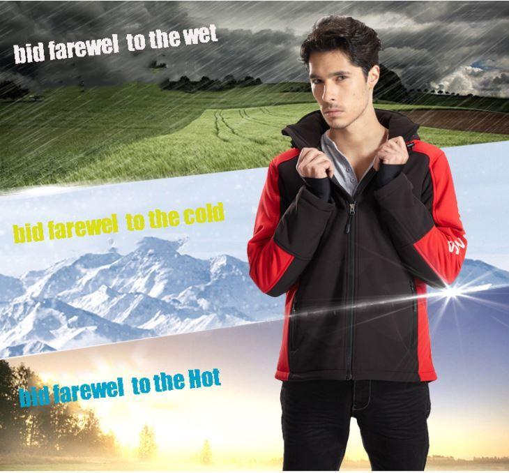 Warm Aiscyle Waterproof Heated Jacket For Outer Wear