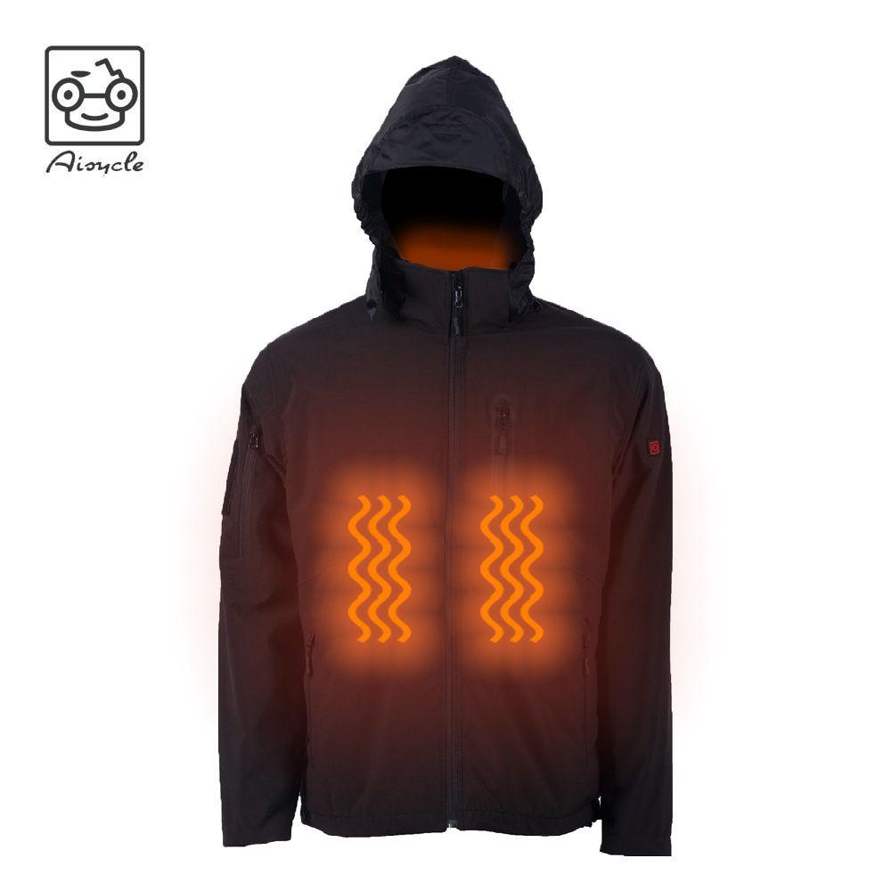 Best Waterproof Softshell Heated Gear Jacket With Micro Fleece Lining