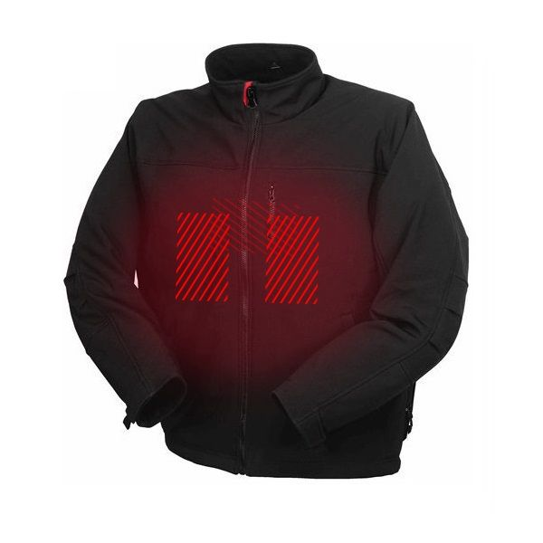 Men Women Winter USB Battery Powered Clothing Heated Coat Jacket With Fleece Liner For Hunting Ski Motorcycle