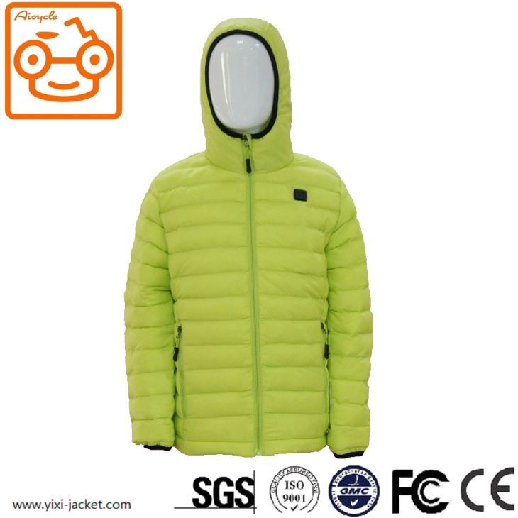 Children Heated Down Jacket With Hood