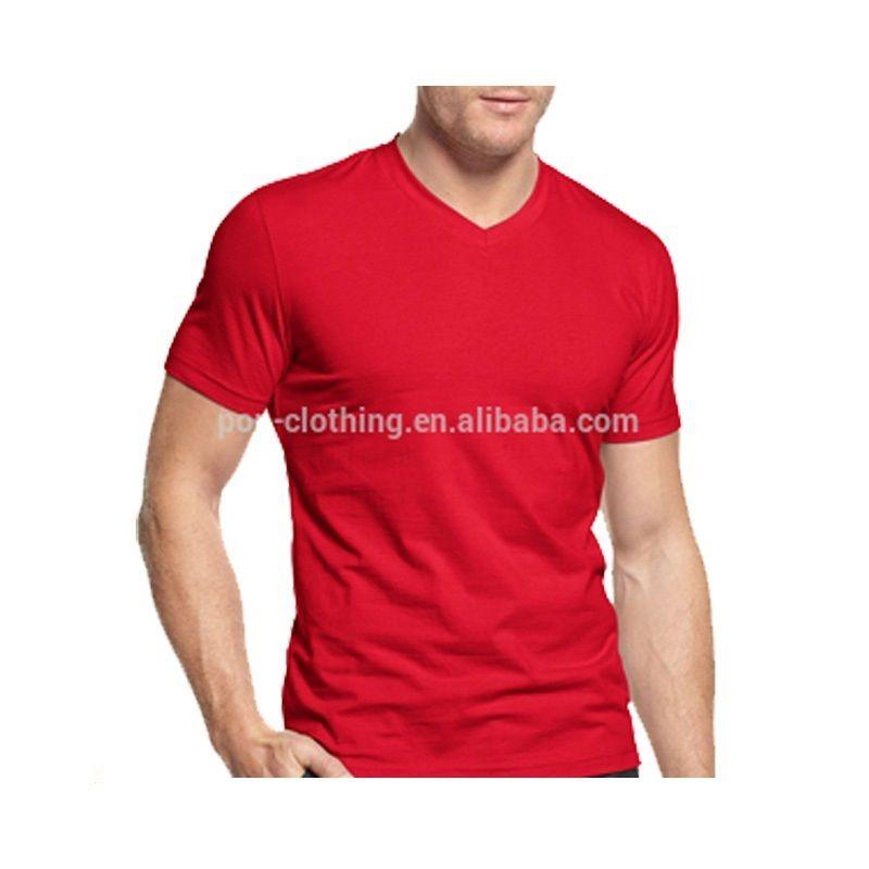 New style V-neck man dri fit t shirt casual men shirt blank t shirts