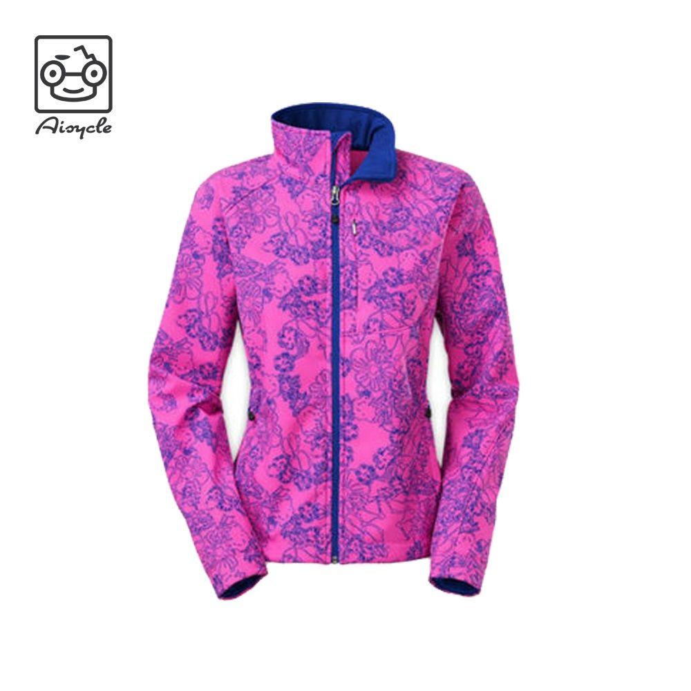 Varsity Custom Softshell Embroidery Jackets For Woman