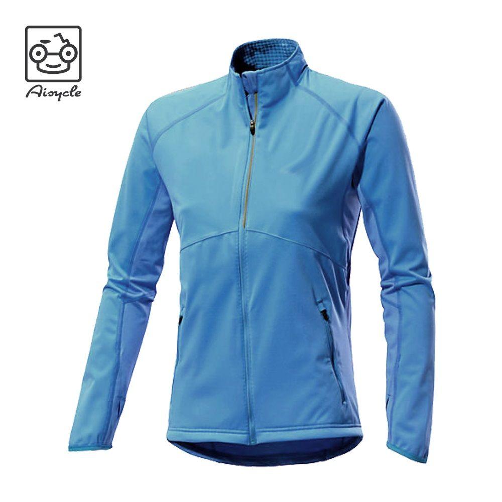 Blue Wind Breaker Girls Running Jacket