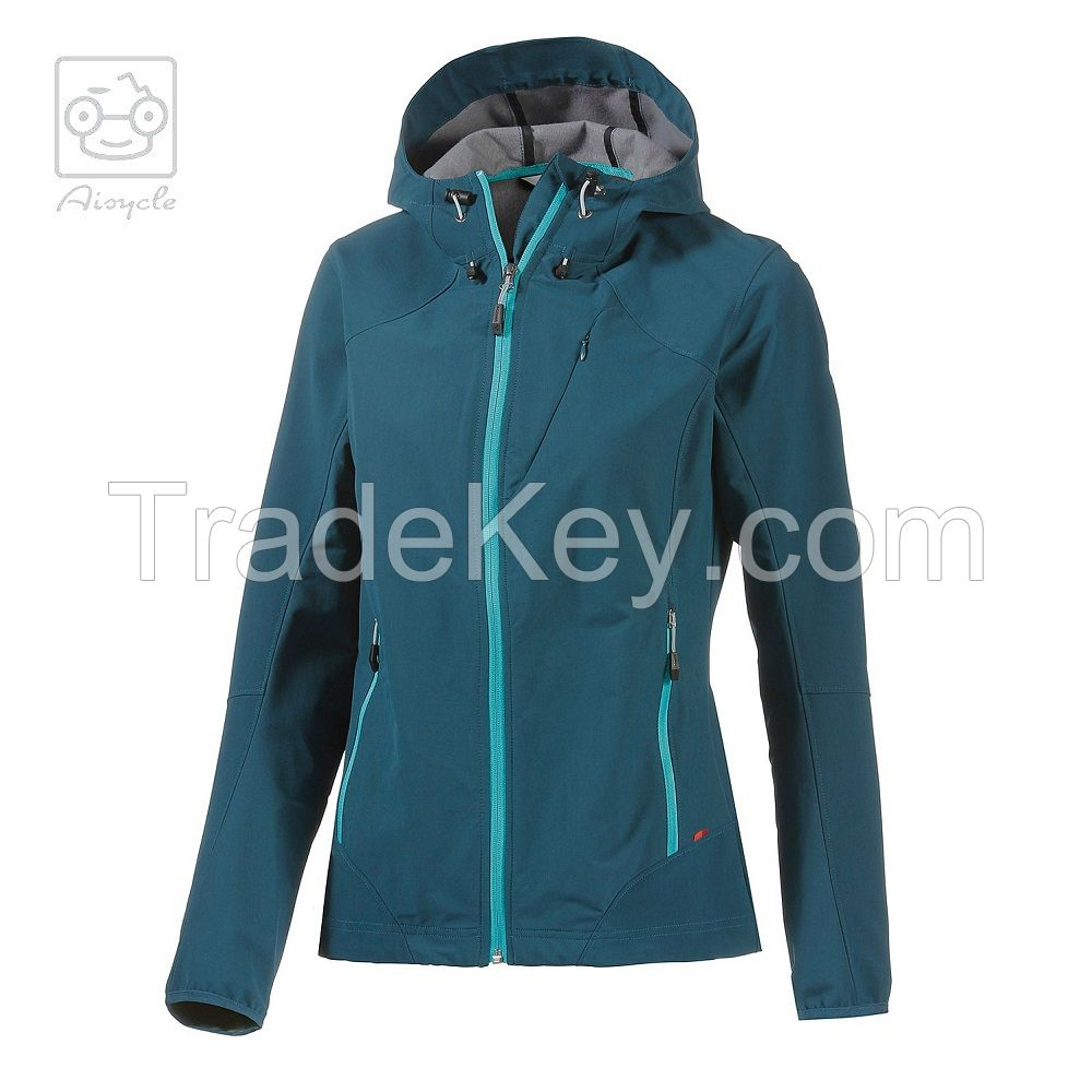 Wholesale Mens Softshell Water Repellent Jacket Drak Blue