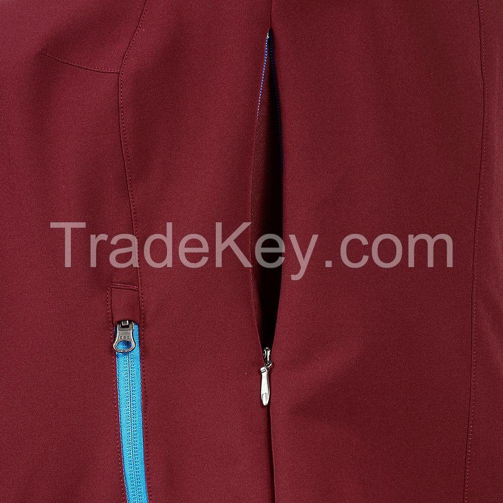 Winter Slim Fit Girls Ladies Hooded Softshell Jacket Fashion Design Wi