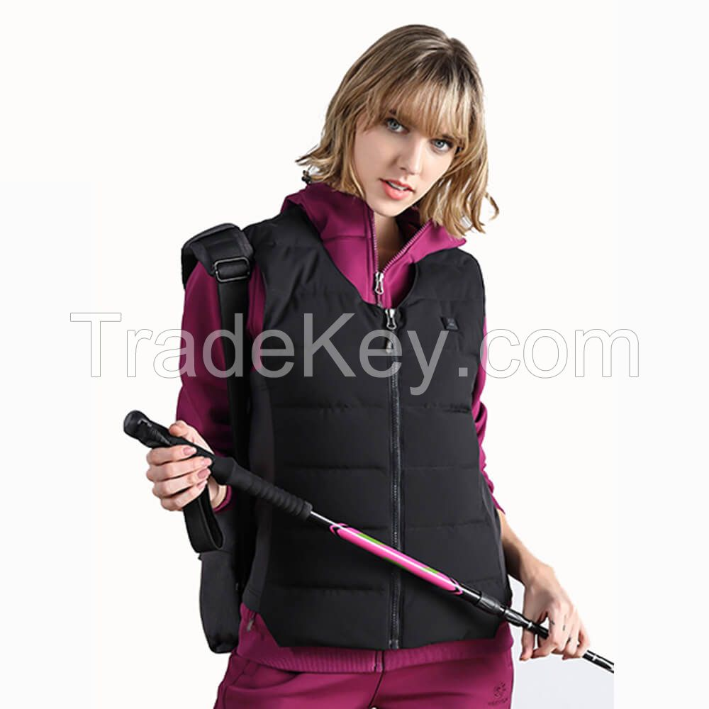 Wholesale Women Heated Vest Warm Outdoor Down Vest