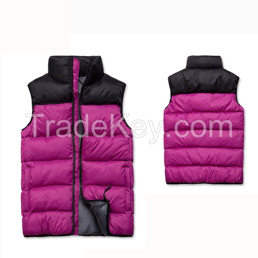 Women Ultralight Cotton Padded Vest For Winter Outdoor Sports