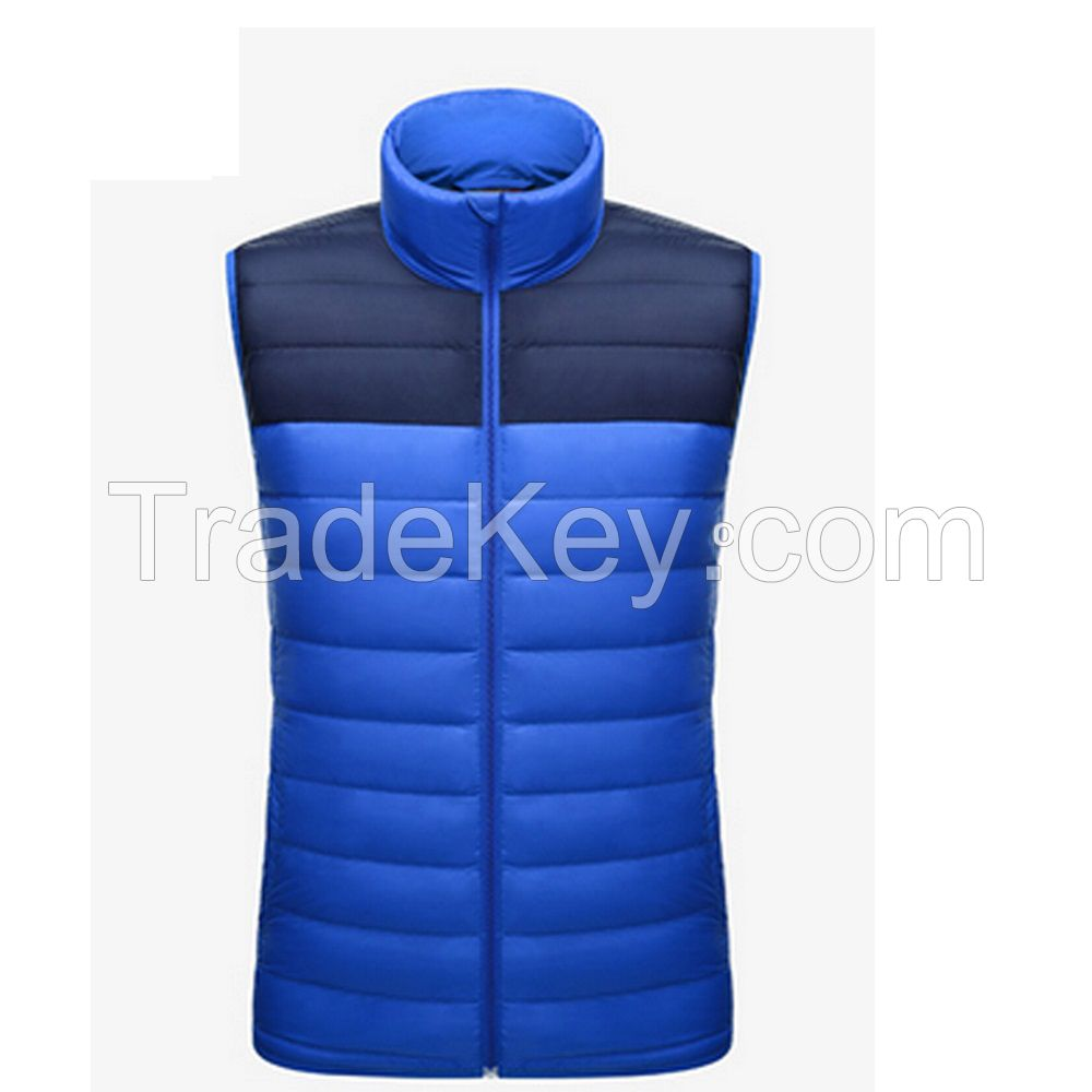 China Top Style Custom Men's 90% Duck Down Vest Lightweight