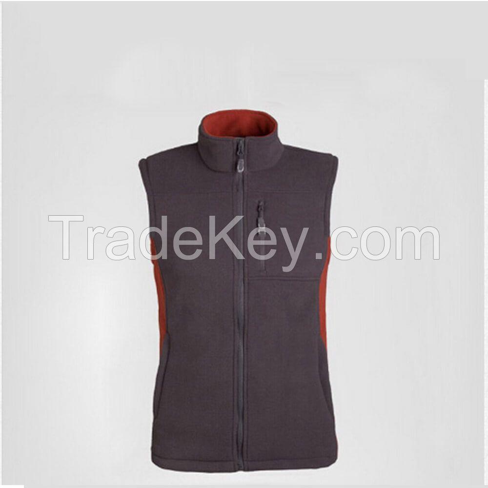 Cheap Micro Polar Fleece Vest Jacket Men High Quality Sleeveless Sport Jacket Anti-Pilling