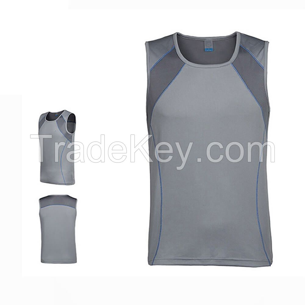 High Quality Summer Breathable Man Sleeveless Casual Vest