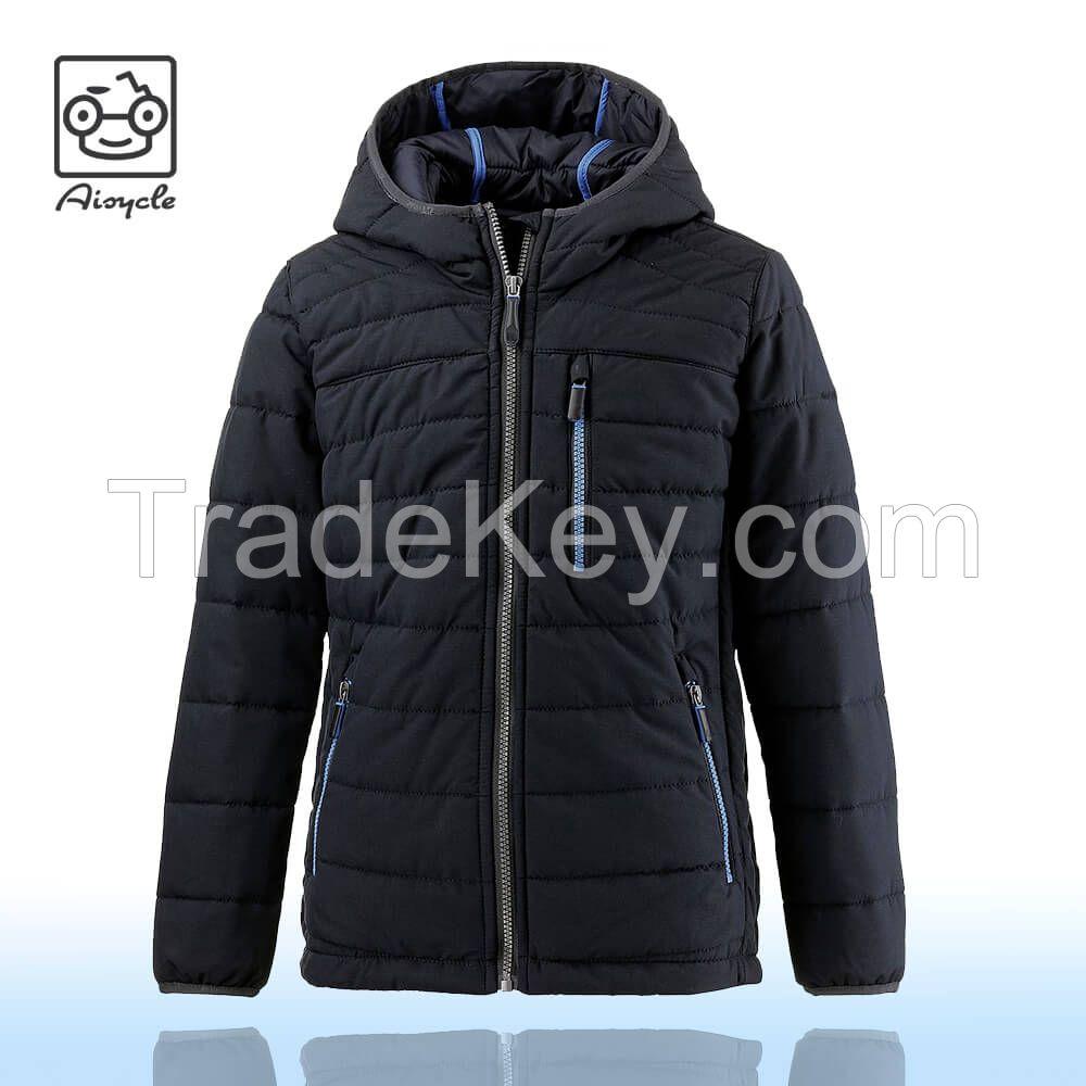 Cheap Winter Mens Womens Nylon Duck Down Padded Jacket Black